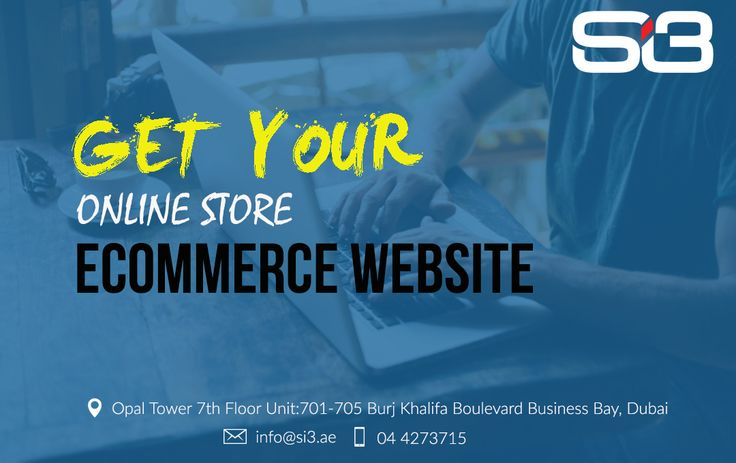 Si3 offers you best Ecommerce website for your business in world. We offer online store in adavanced mode and loset price in market.