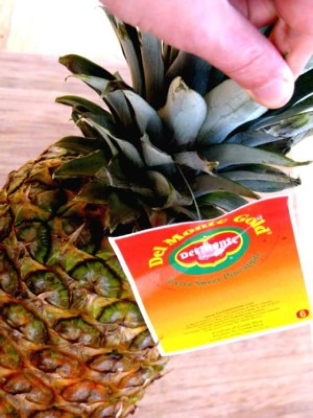 Grilled Pineapple Dessert Recipe: Choose a Ripe Pineapple.