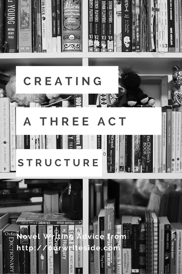 Julia from OWS breaks down the Three Act Structure http://ourwriteside.com/three-act-structure/