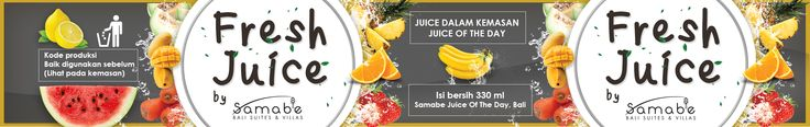 label of juice samabe