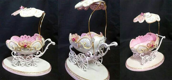 Goose egg carriage