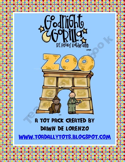 17 Best images about Preschool Good Night Gorilla on Pinterest ...