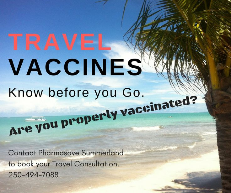 Trip of a lifetime? Protect yourself against diseases that can last a lifetime.