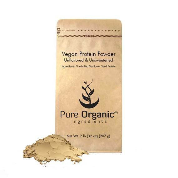 Vegan (Sunflower) Protein Powder (2 lbs)