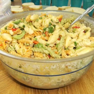 Simple Macaroni Salad. | Salad and Soup Recipes to Try | Pinterest