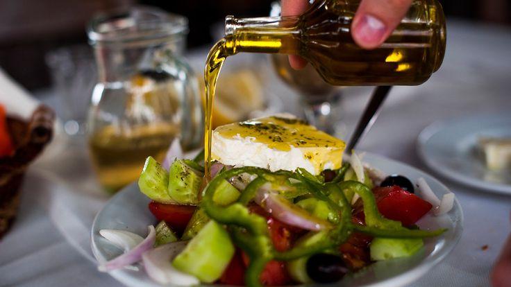 Как мы делаем вкуснейший греческий салат