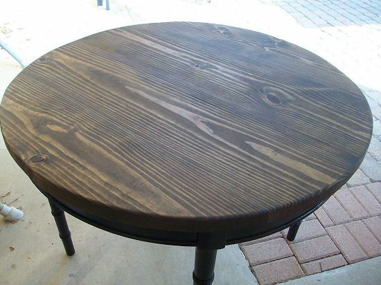 DIY Project Accent Furniture, How to make a cheap solid wood table top out  of