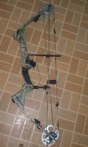 DARTON MAG EXT MEN'S LEFT HANDED COMPOUND BOW WITH QAD DROP AWAY ARROW REST