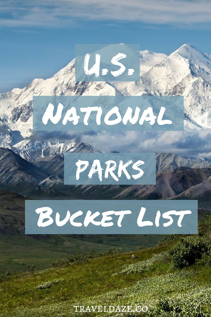 Top 10 national parks on my bucket list