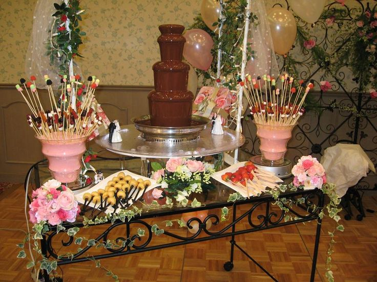 Chocolate Fountain Display | Fruit Displays | Pinterest