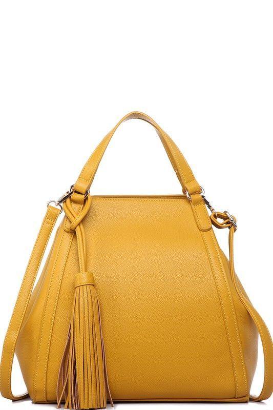 Nellie Mustard Classic Tote Handbag