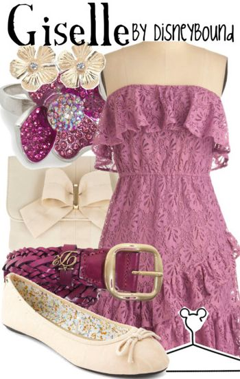 Giselle by Disney Bound Enchanted Disney Fashion Outfit NO one tell my mom about this outfit or..... you will just find out! -Jamie