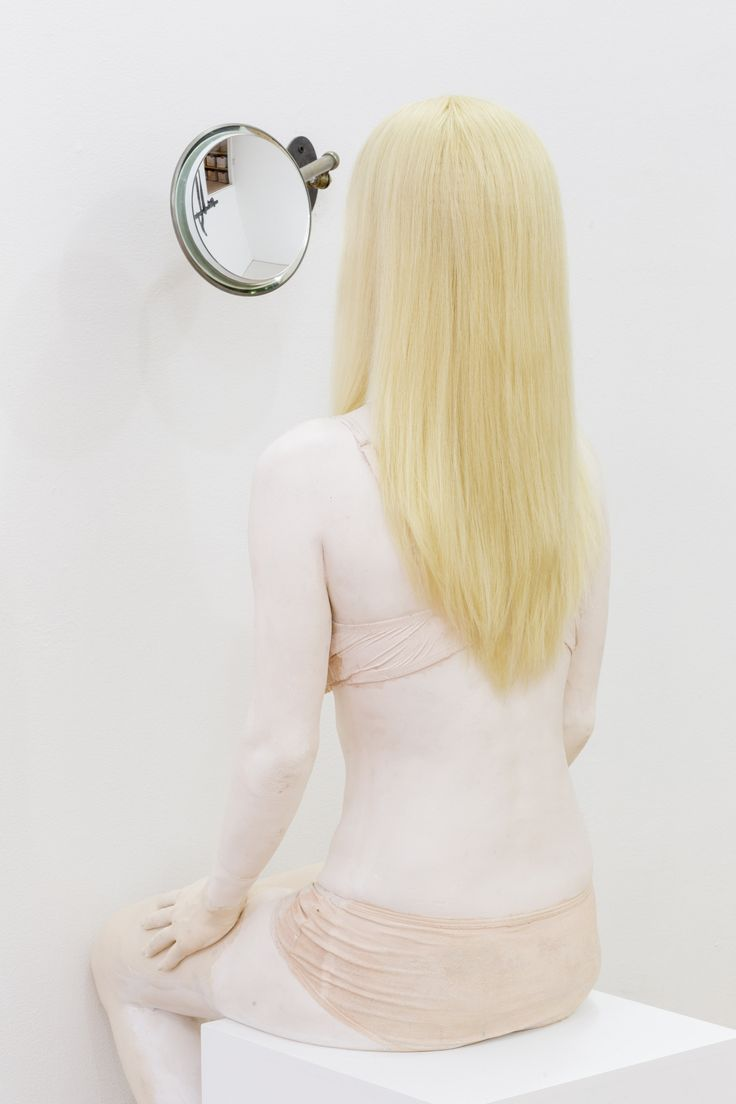 Valérie Blass, Dr. Mabuse Psychanalyste, 2015 Forton, wig, mirror, modeling clay, plinth. March 26 - April 25, 2015 Daniel Faria Gallery is pleased to present My Life, a solo exhibition by Valérie Blass. 188 St Helens Avenue Toronto ON, M6H 4A1 Canada