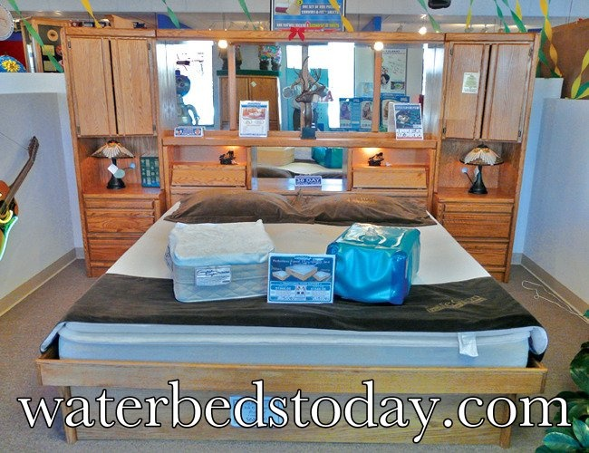 At http://www.waterbedstoday.com we are ONE with the #waterbed. With 40 years of experience to prove it. The ultimate waterbed store in the USA!