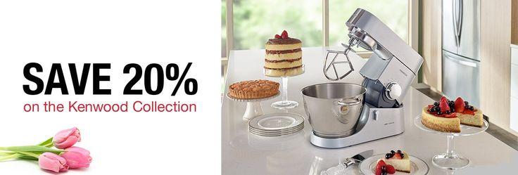Kenwood USA: Kitchen Machines, Blenders, Juicers & more