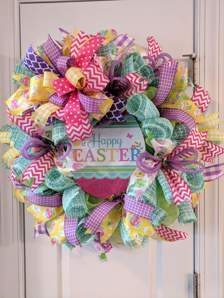 Excited to share the latest addition to my #etsy shop: Easter wreath for your door, Easter bunny wreath front door decor, door decorations, spring wreath, bunny wreath, Easter decorations http://etsy.me/2o9Tmtb