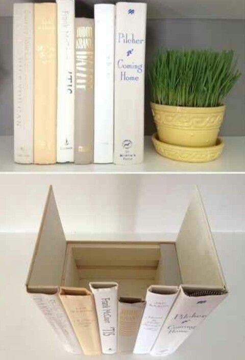 Cool way to hide stuff .I'm definitely making this