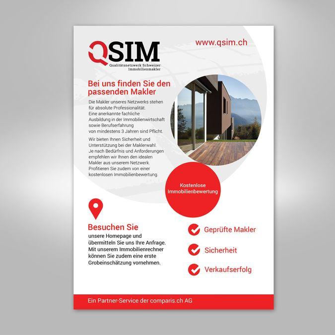 QSIM Flyer by popdesign☼
