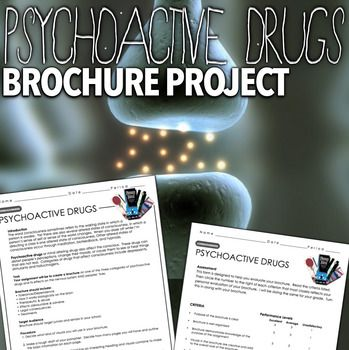 Psychology: Consciousness - Psychoactive Drugs Project