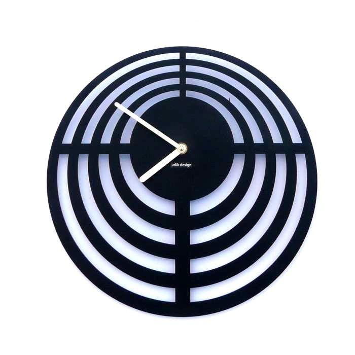 Dekoracyjny zegar ścienny Urlik Design Tarcza ◾ ◾ PrezentBox