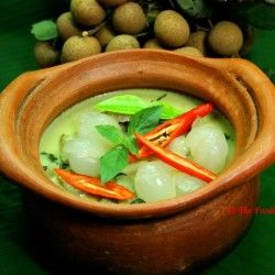 Green Thai Curry with Longan Fruit