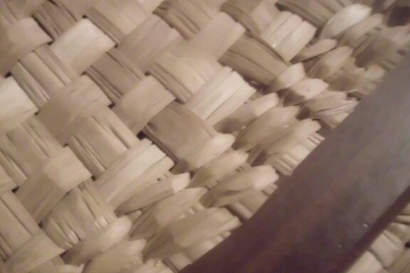 Detalle tejido totora