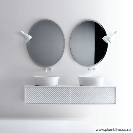Coco 183cm Wall Vanity With 2 Basins