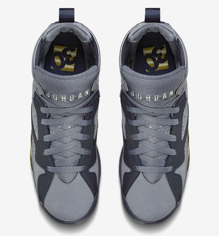 air jordan retro 7 grey gold