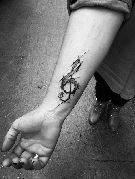 Polish Tattoo Artist Shows The Beauty Of Imperfection With Her Sketch Tattoos (101 Pics)   – tattoo designs