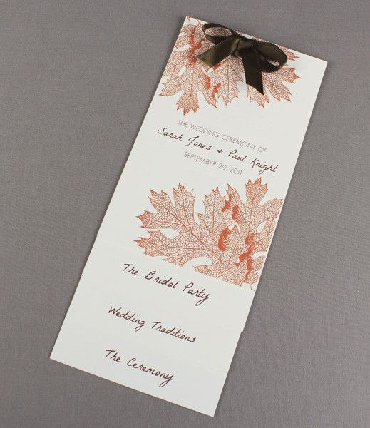 59 best DIY Wedding Programs images on Pinterest | Wedding program ...
