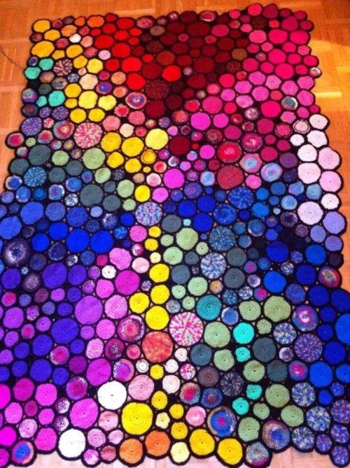 viele, viele gehäkelten Kreisen & # 8230; ~ Über coloridoEcletico