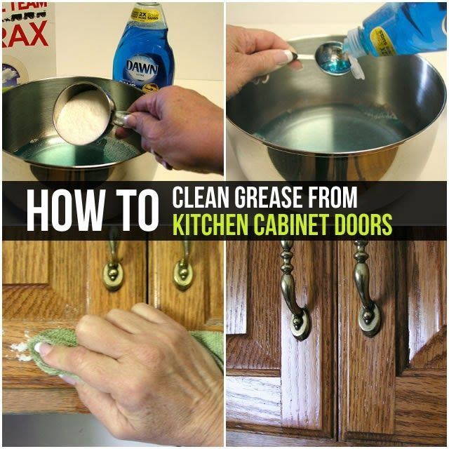 Clean Kitchen Cabinets, Cleaning Kitchen Cabinets With Dawn
