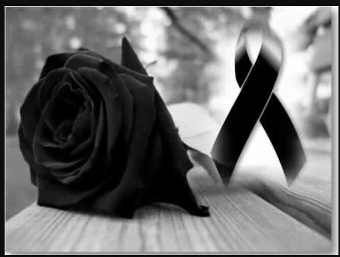 Mis Condolencias (Black Rose)