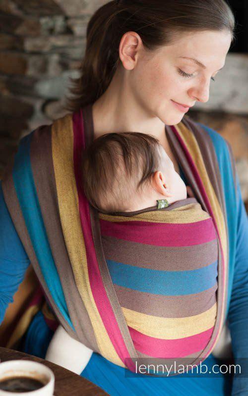 Porte-bébé écharpe tissée par Lennylamb - Forest Meadow GRADE B