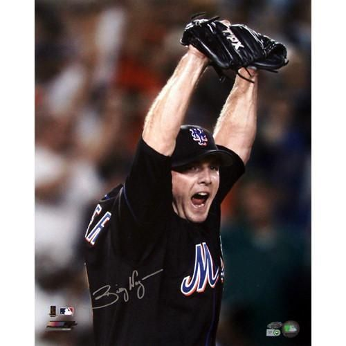 Billy Wagner New York Mets Arms Raised 8x10 Photo (MLB Auth)