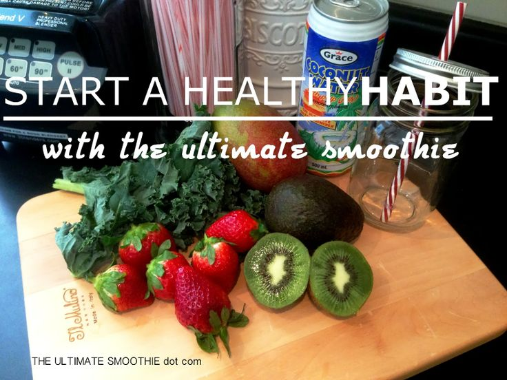 Star a Healthy Habit with The Ultimate Smoothie.  Recipes, terrific tasting smoothie blends that will kick start your journey to a sexier, healthier, happier you!  www.facebook.com/TheUltimateSmoothie