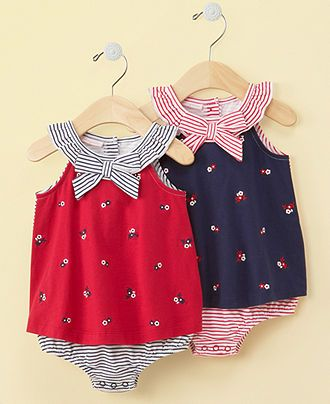 First Impressions Baby Dress, Baby Girls Sundress - Kids Baby Girl (0-24 months)…