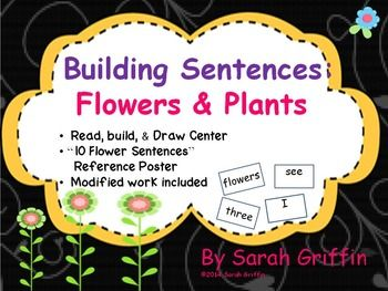 52 best sentence building images on pinterest learn english building sentences flowers and plants ccuart Gallery