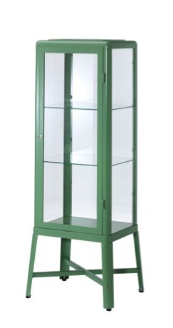 Glass display cabinet with lock woodworking projects plans for Vitrine ikea klingsbo