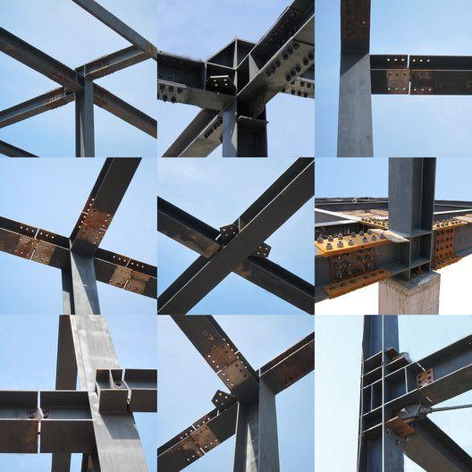 Protótipo do OPEN para o Pavilhão Temporário de Vendas de Habitações,Detalhes Estruturais