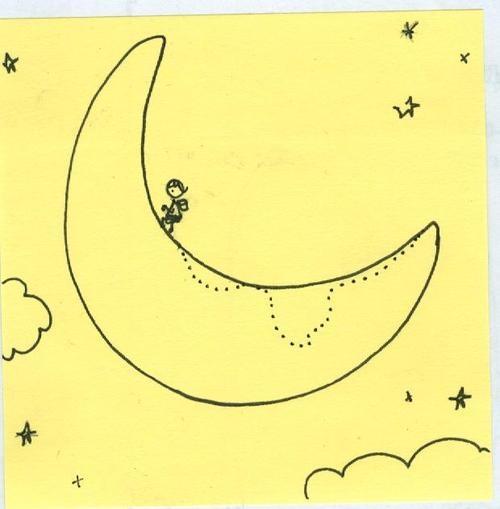 last night i did a moon walk