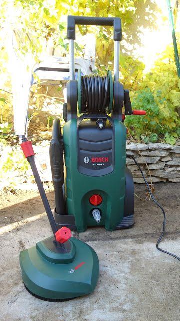 Initiales GG ...j'ai testé le nettoyeur haute pression AQT 45-14 X de Bosch #test #outillage #jardin