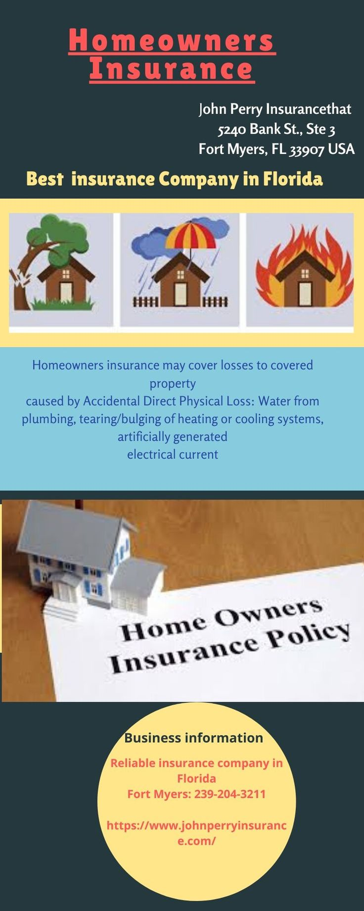 House Insurance Agency Fort Myers, FL in 2020 Homeowners