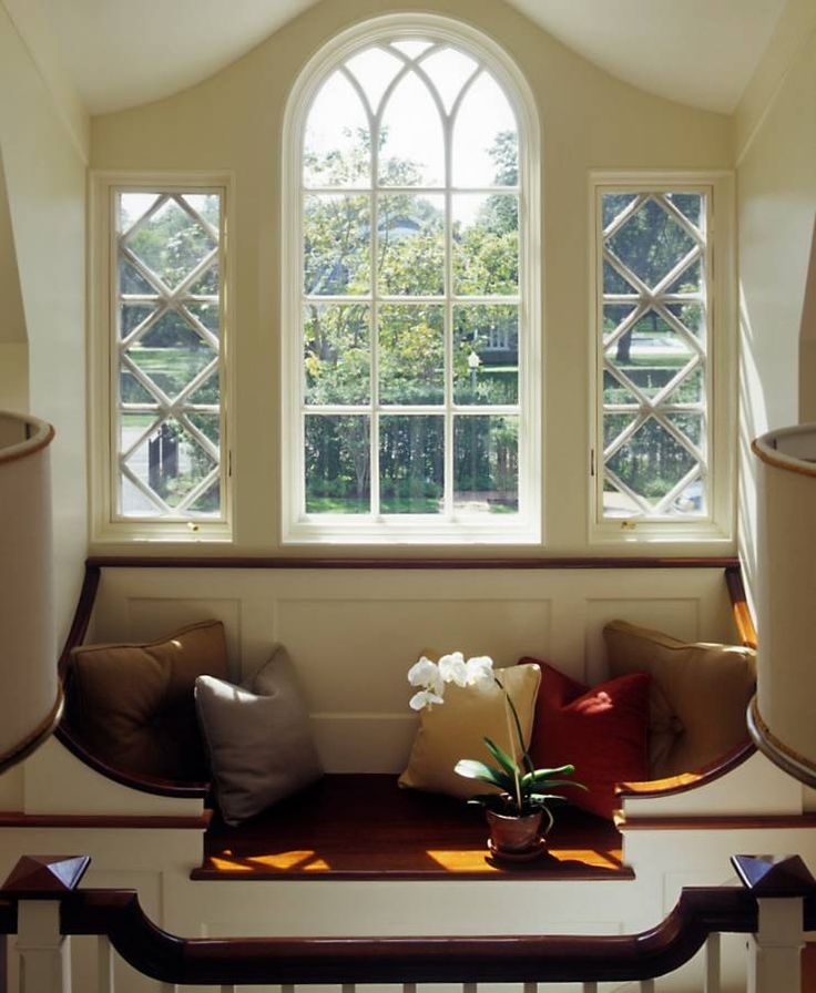 Things we love window seats design chic windows Window seat reading nook