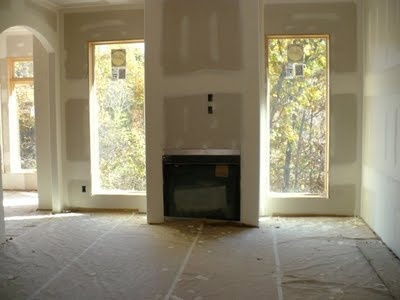 I want big windows on both sides of the fireplace so i for Fireplace with windows on each side