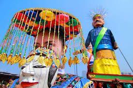budaya betawi   Betawi mask dance or tari topeng Betawi is a mask-dance of the Betawi people of Jakarta.