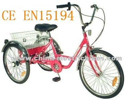 http://www.china-electricbikes.com/electric-tricycle/electric-adult-tricycles.html Adult tricycle driving when the two vehicles are not allowed in parallel.