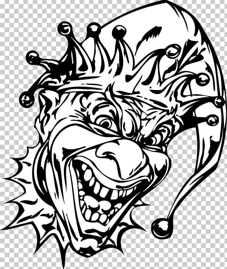 Joker Evil Clown Autocad Dxf Png Art Black And White Bone Cartoon Clown Clown Evil Clowns Air Brush Painting Clown