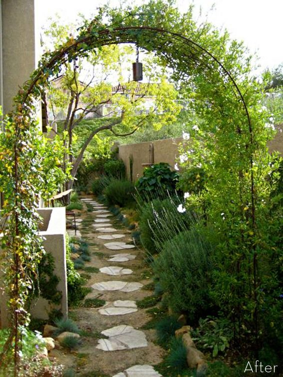 A magical side yard makeover! This gives me hope for my tiny yard.