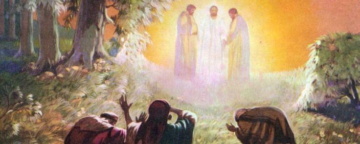 Transfiguracion de Jesus Adelante la Fe krouillong comunion en la mano es sacrilegio